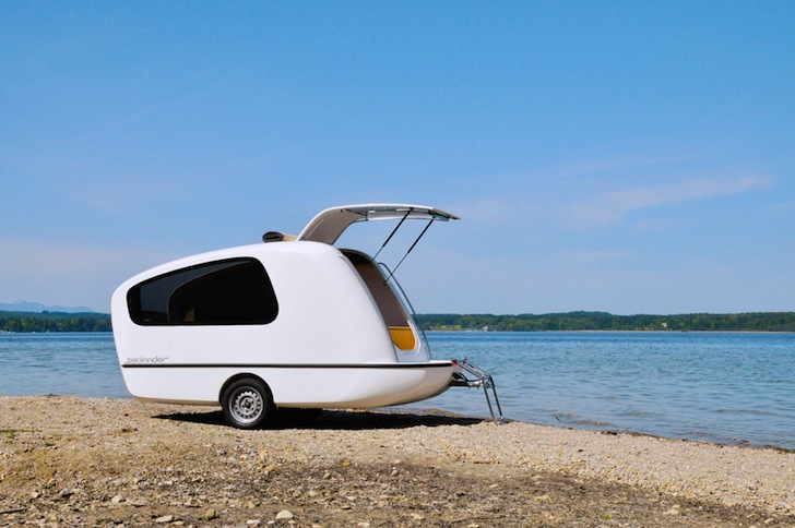 Sealander A Compact Caravan That Doubles As A Small Boat