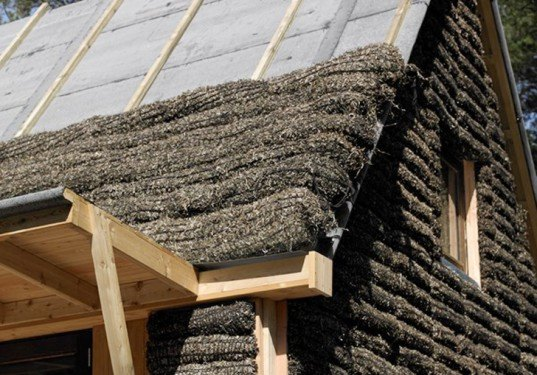 Seaweed House Denmark, Realdania Byg, Vandkunsten, seaweed insulation, thermal insulation, sustainable building materials, sustainable homes, non-toxic insulation, fireproof building materials, green materials