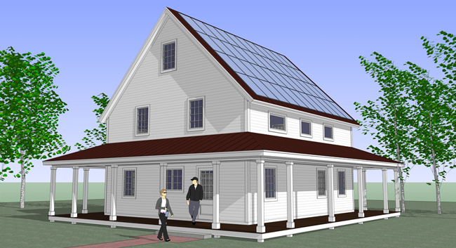Prefab smarthomze are affordable net zero energy kits for for Prefab sip home kits