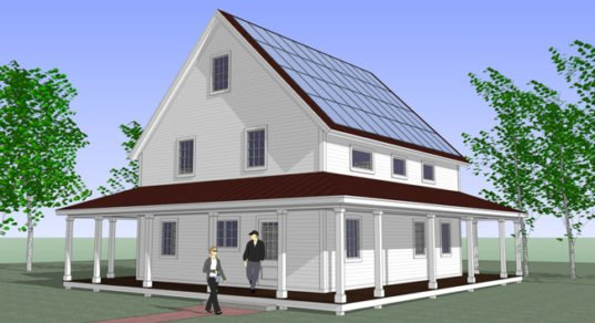 Prefab smarthomze are affordable net zero energy kits for for Inexpensive home kits