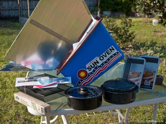green design, eco design, sustainable design, SunOven, Solar kitchen, solar oven, off the grid cooking