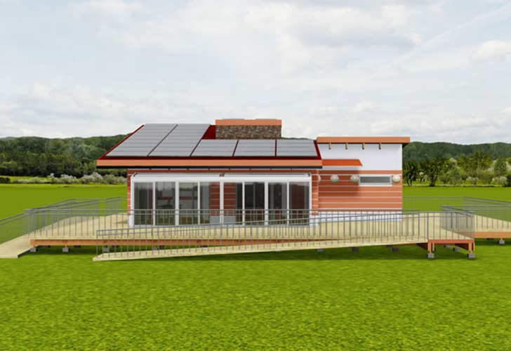 West Virginia University Students Create a Sustainable Home that Honors Appalachian Tradition