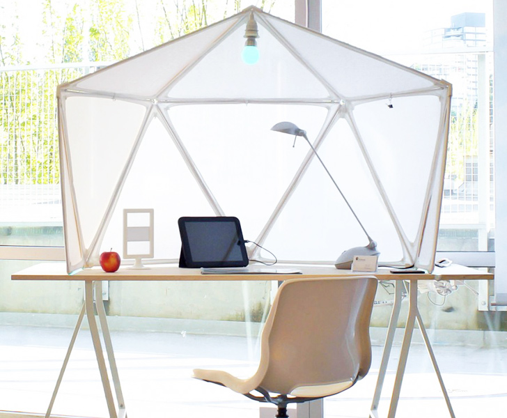 Atmos Cubicle by Olero Design « Inhabitat u2013 Green Design Innovation Architecture Green Building  sc 1 st  Inhabitat & Atmos Cubicle by Olero Design « Inhabitat u2013 Green Design ...