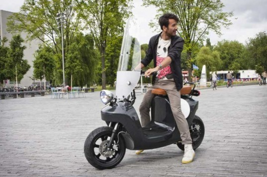 be.e, electric scooter, waarmakers, van.eko, plants, composite, battery