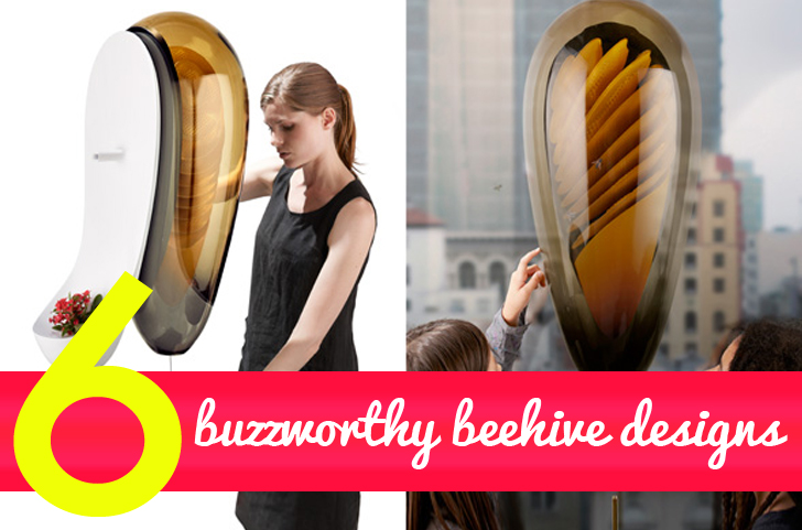 6 Awesome Backyard Beehive Designs