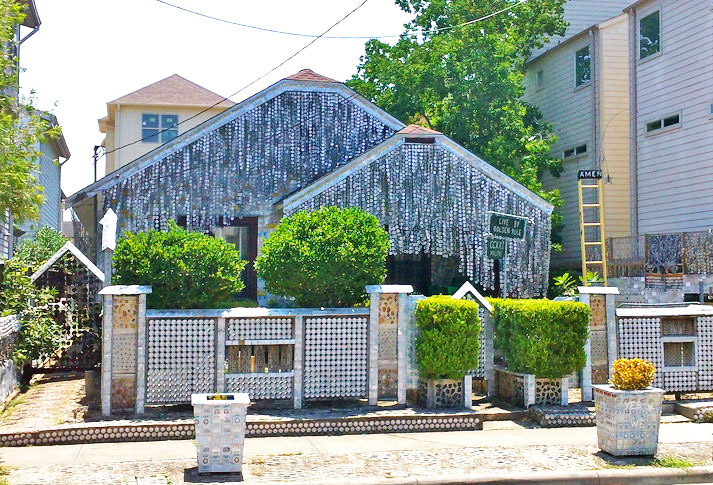 Awe Inspiring Beer Can House Texas Home Made From 50 000 Cans Now A Interior Design Ideas Philsoteloinfo
