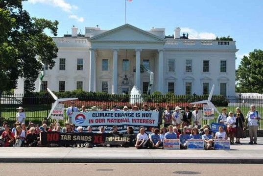 keystone xl pipeline, protests, tar sands, white house, activists, climate change