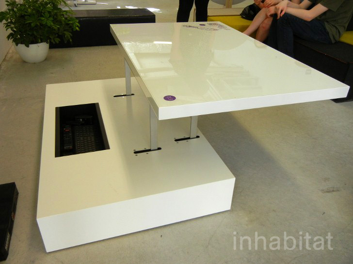 Resource Furniture Flat Desk Coffee Table Inhabitat Green