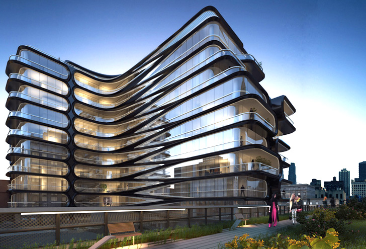 Zaha Hadid Unveils Her First Nyc Building And It Will Be