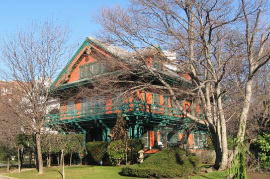PHOTOS: Weird But Wonderful Japanese Victorian Mash Up Home Adds Flair To  Brooklyn Neighborhood
