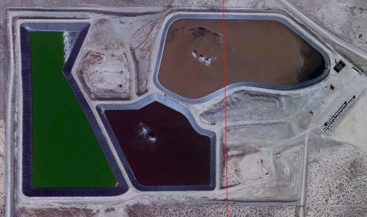Fracking, Hydraulic Fracking, Utah, environmental distruction, natural gas, oil, energy, earthquakes, methane, green house gas, Google Earth, waste pools