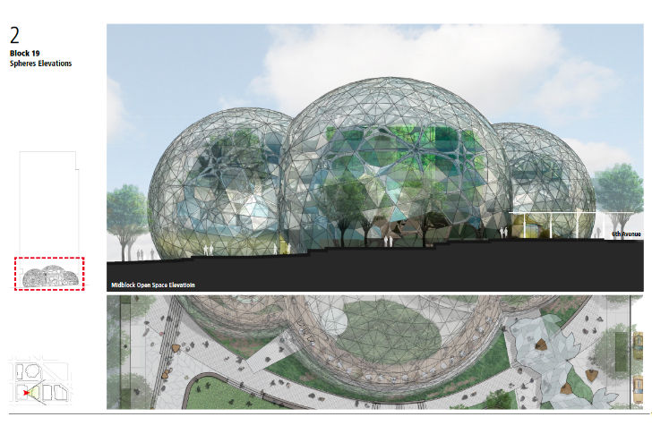Nbbj Unveils New Plans For Biosphere Greenhouses At Amazon