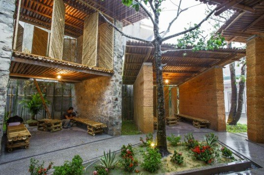 Bes Pavilion, H&P Architects, Bes Pavilion H&P Architects, Vietnam, Vietnamese Architecture, bamboo architecture, H&P Architects, green architecture