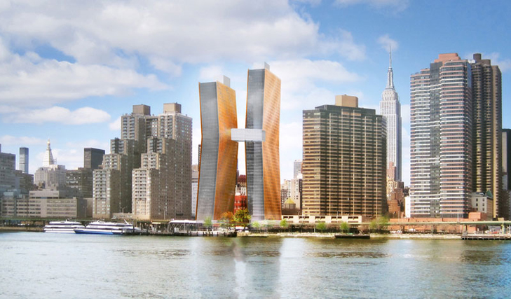 Dancing Towers: SHoP Architects' New NYC Complex Could Be Storm Resistant