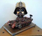 Amazing Darth Vader Tank is Made from Salvaged Materials