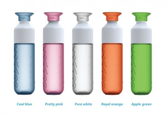 Dopper's Fashionable Net-Zero Carbon Water Bottle Offers More than Your Average Canteen