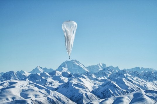 Google, Project Loon, balloon-powered Internet, Central Valley