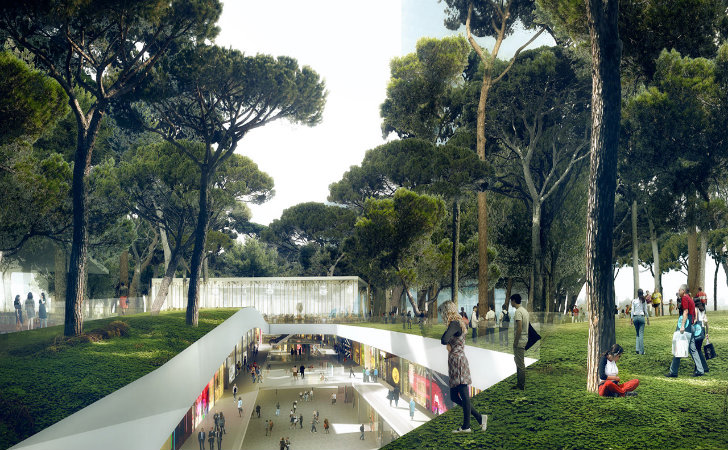 Mvrdv Unveils Plans For Underground Maguinnext Shopping Mall Topped With A Lush Park In Barcelona in addition 2c8a51f253af70c2 Build Your Own Tiny House Build Your Own Virtual House also Small Dwell Prefab Homes in addition Gooseneck Tiny House For Sale together with Beihai Silver Beach Resort Beihai China. on tiny eco home plans