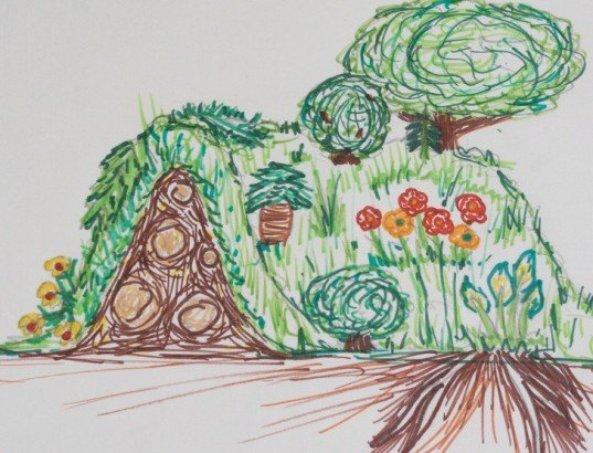DIY hugelkultur: how to build raised permaculture garden beds on simple house garden design, horticultural therapy garden design, sustainable garden design, modern garden design, water garden design, xeriscape garden design, veggie garden design, bioretention garden design, vegetable garden design, forest garden design, livestock garden design, cutting flowers garden design, home garden design, keyhole garden design, companion planting garden design, high tunnel garden design, landscape design, herb garden design, swale garden design, bioshelter design,