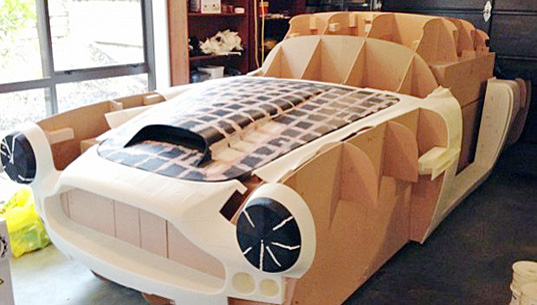 new zealand man is 3d-printing a fully-functional 1961 aston martin