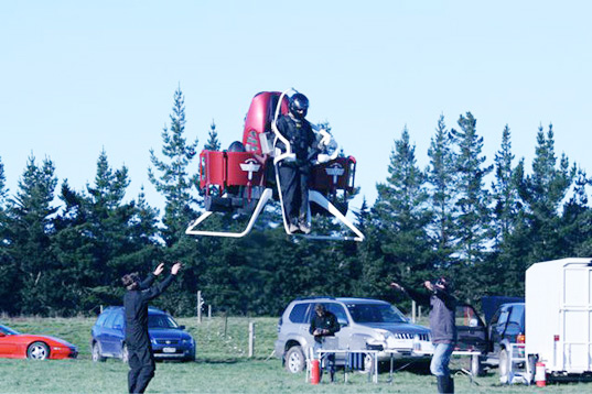 Martin Aircraft, Martin Aircraft jetpack, jetpack designs, aerial vehicles, manned flight, unmanned vehicles, green gadgets, experimental vehicles, experimental flight, prototype vehicles, parachute
