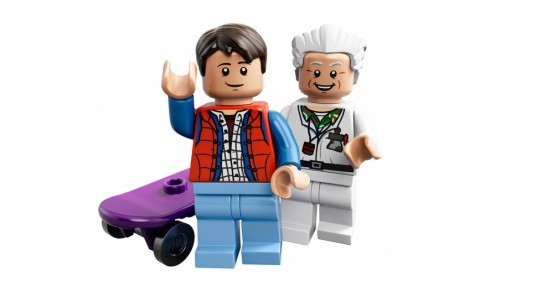 Back to the future, LEGO, Back to the future LEGO, Doc Brown, Marty McFly, Huey Lewis and the News, film lego