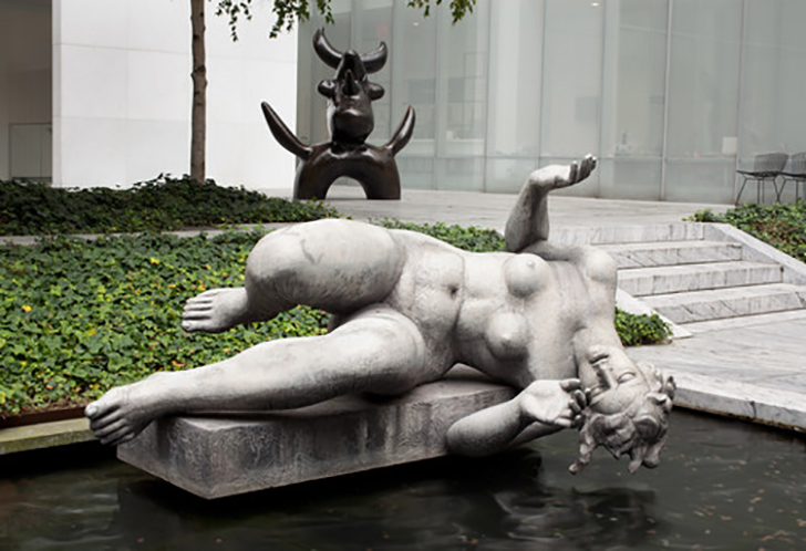 moma announces it will open its sculpture garden to the