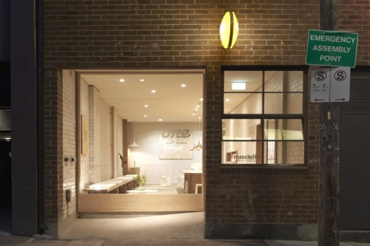 One Hot Yoga, Rob Mills Architect, melbourne, heat recovery ventilation, hot yoga, yoga studio, energy efficient design