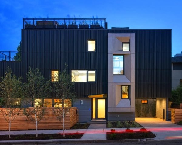 Park Passive, NK Architects, cascade built, passive house, seattle's first passive house, passiv haus, green home