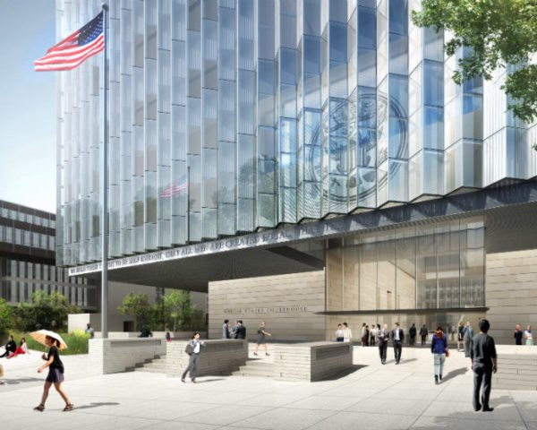 som s leed platinum seeking federal courthouse breaks ground in la rh inhabitat com la courthouse hours la courthouse west