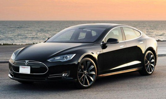 green design, eco design, sustainable design, electric vehicles, Tesla Trips, Tesla Model S, electric taxi Portland