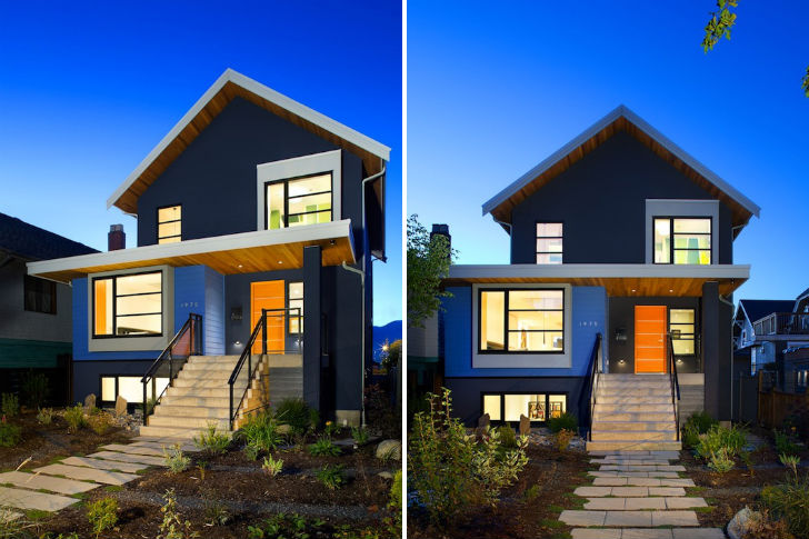 Vancouver renovation turns a 50 39 s bungalow into a modern for 1950 bungalow house plans