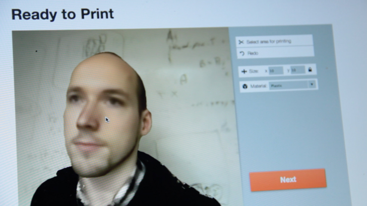 The 3D Scan-to-Print Web App Turns Any Kinect into a 3D Scanner