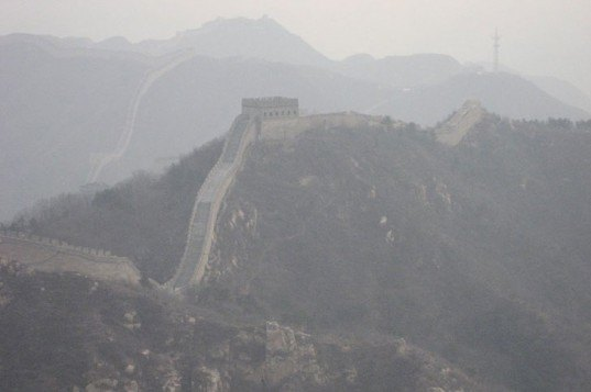 china pollution, pollution great wall, great wall of china, china haze, chinese pollution regulations, chinese climate policy