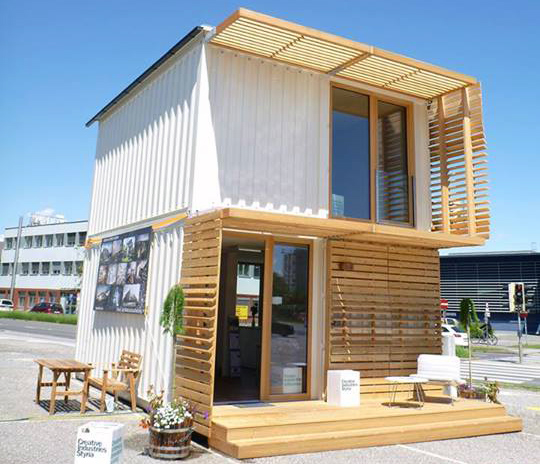Modern Box House Design: COMMOD Shipping Container House By ContainMe! « Inhabitat