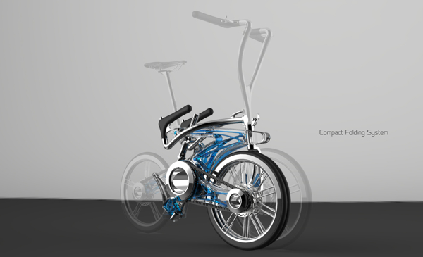 The Cool and Compact HaseBike Folding Bicycle Is Perfect for Urban Commuters