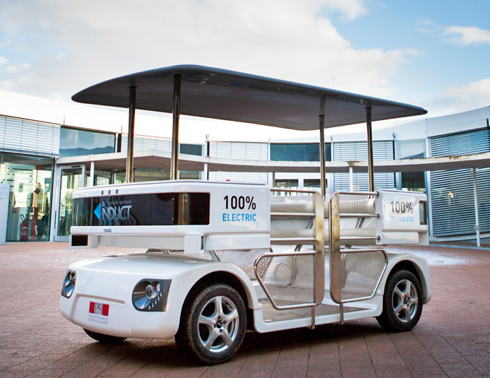 Singapore's First Driverless Electric Vehicle Hits the Streets for Testing