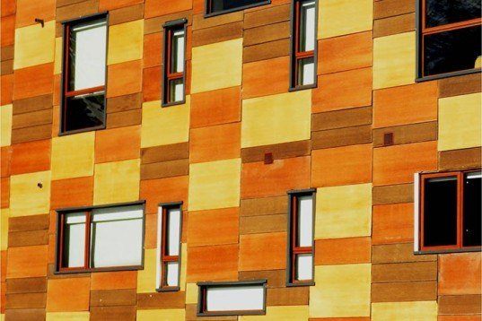 o2 arquitectos, restoration, hotel, Chile, Andes mountains, recycled wooden boards, pixilated facade, thermal waters, sustainable heating, Architecture, Daylighting, Recycled Materials, Green Materials,