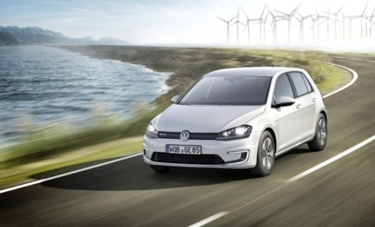 volkswagen, volkswagen golf, volkswagen e-golf, volkswagen electric vehicle, electric vehicle, electric motor, 2013 frankfurt motor show, green car, green transportation