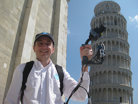 Leaning Tower of Pisa, Dr Jonathan Roberts, ZEB1, 3d mapping, 3d laser mapping, 3d laser map, Tower of Pisa, Map of Leaning tower of Pisa, Zebedee technology, CSIRO, mapping tower of pisa, Laser mapping technology, laser mapping, laser mapping buildings, tower of Pisa laser mapping, tower of Pisa interior laser map, Leaning Tower of Pisa 3d, Tower of Pisa 3D, Leaning tower 3D, leaning tower of Pisa 3d map, tower of Pisa 3d map,