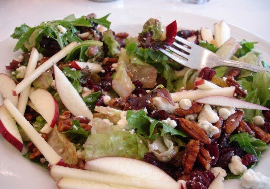 Apple Walnut and Cheese Salad