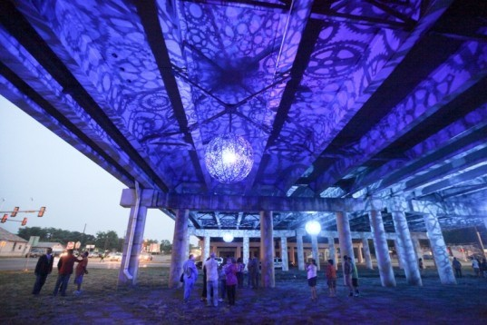 sxsw eco, led light, place by design competition, bamboo gardens, public spaces, blighted properties
