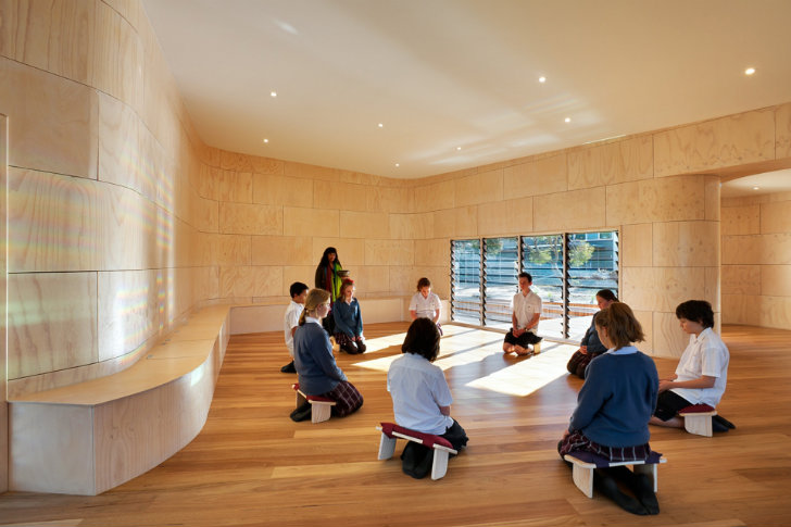Bentleigh College S Eco Meditation Center Is The Perfect