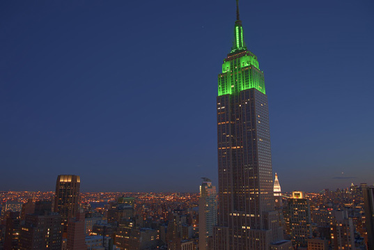 , Emgreen design, eco design, sustainable design, Empire state building, LEED Gold, Green roof New York, Xero Flor