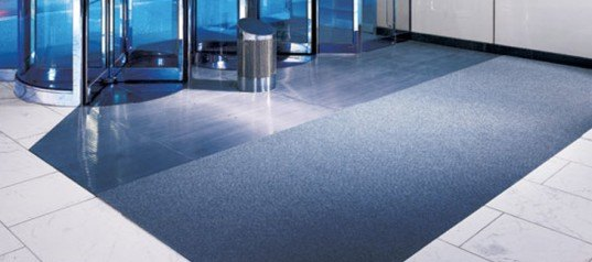 Entrance Flooring in commercial building, construction specialties, specialty entrance flooring