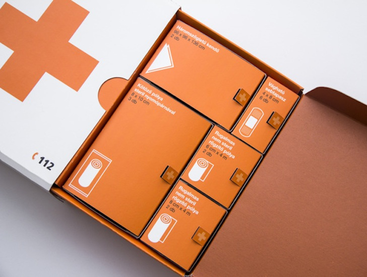 Architecture Design Kit life-saving first aid kit looks like it was designedapple