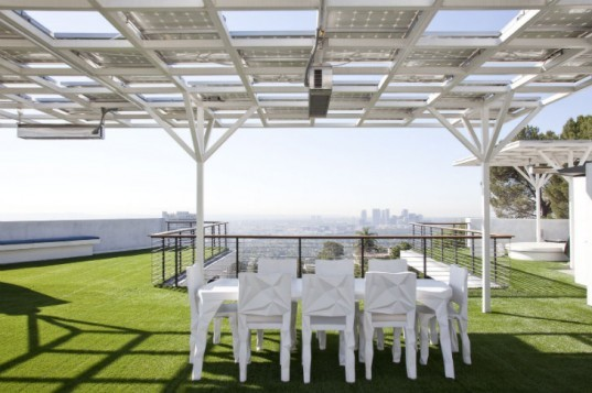 Greenberg Green House, New Theme, green home, green roof, solar home, los angeles