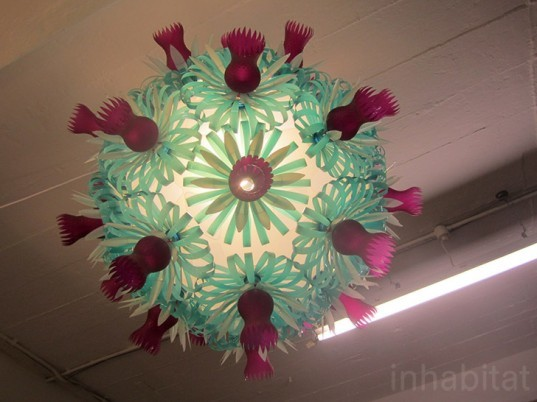 eco design, green design, upcycling, sustainable design, london design festival, tent london, upcycled lights