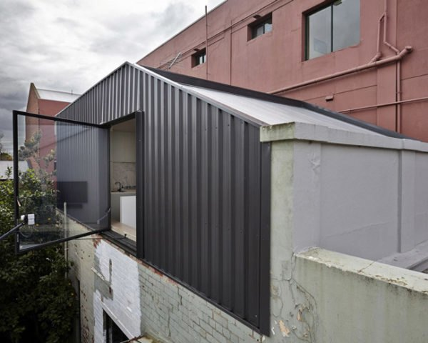 Innovative Daylighting, Melbourne Australia, Edwards Moore Architects, Translucent Materials, Residential Remodel, Residential Addition, Perforated metal