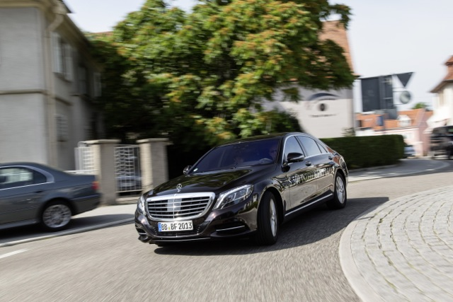 Mercedes benz 39 self driving car completes first autonomous for What country is mercedes benz from